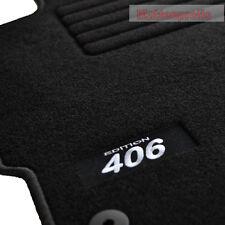 Logotipo gamuza tapices alfombras coche para peugeot 406 Coupe a partir del año 1997 - 2004 SW