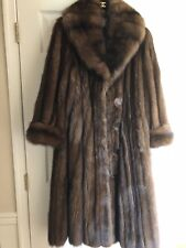 SABLE RUSSIAN 2018 BARGUZIN NEW TAGS Brown Silver Grey coat L-XL Light weight57K