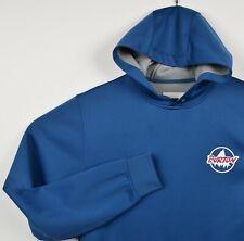 Burton DryRide Men's Sz Medium Blue Logo Pullover Hoodie Sweatshirt