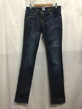 Sass & Bide Sydney Size 25 Fits Size 6 Dark Blue Low Waisted Jeans