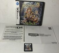 Rune Factory 3: A Fantasy Harvest Moon (Nintendo DS, 2010) Game With Case Tested