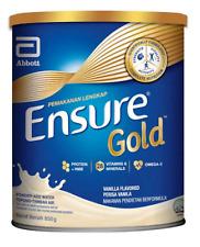 4 X Abbott Ensure Gold Vanilla 850g Complete Nutrition FREE DHL EXpress