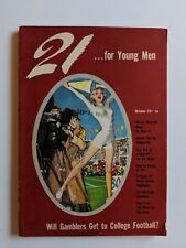 Vintage 21 For Young Men Magazine Vol 1 No 2 October 1951 Cartoons Pinups Fictio