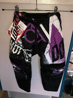 pantalon motocross violet SHOT RACE GEAR taille 6/7 ans (20 US) valeur 100€