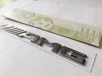 Mercedes AMG Chrome Badge Emblem Decals For 2017 Onwards Models