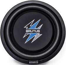 "Hifonics BXS12D4 12"" Brutus Series Shallow Subwoofer With Poly Cone And 2"" Voice"