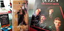 Freddie Mercury Figure + Queen Greates Hits LP