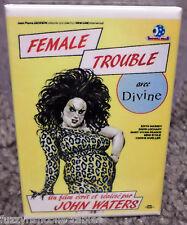 "Female Trouble Movie Poster 2"" x 3"" Refrigerator Locker MAGNET Divine Waters #2"