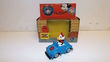 CO TOYS DIECAST DAISY DUCK IN CAR WALT DISNEY 1983 1:43 ITALY ESCI MIB (Z215)