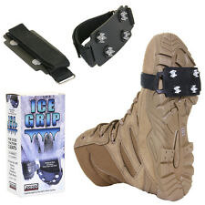 Crampons from ICE and snow anti slip ICE GRIP Fosco USA for shoes and boots