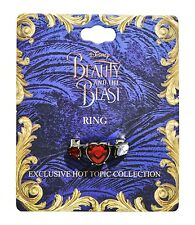 Disney BEAUTY AND THE BEAST LIVE ACTION TRUE BEAUTY REPLICA RING Size 7 New