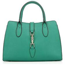 "Thompson Luxury Bags "" ANISHA "" verde pelle, Business BORSETTA"