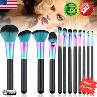 12PCS Make up Brushes Set Foundation Blusher Face Powder Eyeshadow Brush New