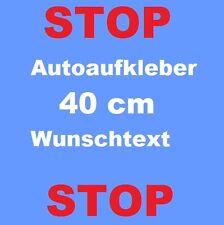 40cm Wunschtext Aufkleber Schriftzug Geschäftsaufkleber Autoaufkleber Klebefolie