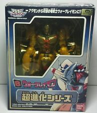 Rare Japanese Bandai Digimon Adventure Warp Digivolving Wargreymon Agumon Figure