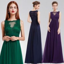 Ever-Pretty Sleeveless Dresses for Women with Appliqué