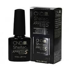 Creative  CND SHELLAC XPRESS TOP  COAT UV Gel .5 oz LARGE SIZE, LOT OF 6