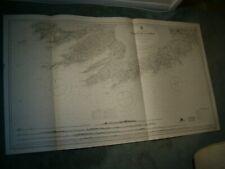 Vintage Admiralty Chart 2424 IRELAND - VALENCIA to CORK 1908 edn