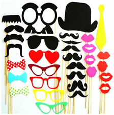 34 Piece Photobooth Props Party Festival Weddings Birthday Party Photo Props