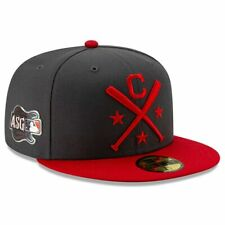 Cleveland Indians Hat New Era 59FIFTY MLB ASG Workout On-Field 2019 Fitted 7-3/8