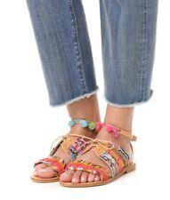 NEW $275 ELINA LINARDAKI Hula Hoop Sandal sz 36 / 6