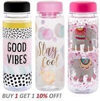 New Water Drinks Bottle Detox Slimming Fruit Juice Holder School - Sass & Belle