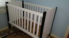 White Cot, 3 In 1 and Matress