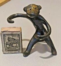 VTG Brass Figurine Monkey Walter Bosse design Ring Holder soviet 50s USSR