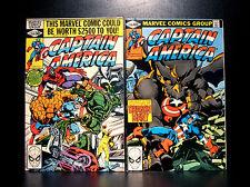 COMICS: Marvel: Captain America #248-249 (1980), 1st Bernadette Rosenthal app