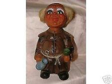 Vintage 1967+ West Germany Heico Happy Monk Bobblehead Nodder Troll