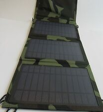 Foldable 10W  Multi Purpose Sun powered Solar Panel Charger USB Battery Charger