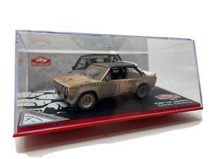 IXO 1:43 Fiat 131 Abarth Rally Car Monte Carlo  1978 Ltd Ed 1/100 Staged Effect
