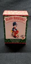 Merry Miniatures Hallmark Mickey's Express - Mickey's Locomotive - 1998