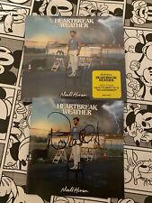Niall Horan Heartbreak Weather Nice To Meet Ya CD Unplayed Deluxe Hand Signed 1D