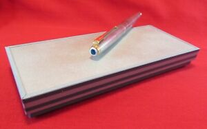 Parker 75 Rare Cap and Box...Sterling Silver...Works