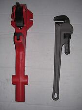"New Foot Vise & Pipe Wrench 1-1/4""-2"" Ridgid 300 700 141 161 Pipe Threader 811"