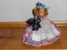 Nancy Ann Storybook Doll ~ #32 English Flower Girl w/Pudgy Tummy & JT