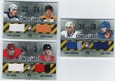 2011-12 ITG Enforcers CombatantsTiger Williams & Terry O'Reilly Jersey Black