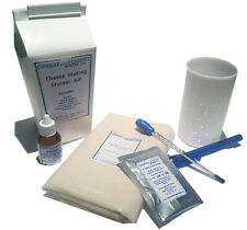 Home Cheese Making Kit (Vegetable Rennet): Rennet + Culture + Cheese Cloth& MORE