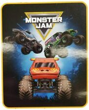 Monster Jam Trucks Soft Throw Blanket *New*