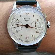 Chronographe Suisse vintage watch, Landeron 48 movement, circa 1950
