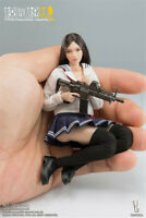 1:12 VERYCOOL Mini Female Action Figure Combat Girl Model Toy Collection Ornamen