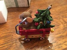 "Charming Tails ""All Ready To Get Christmas Rolling� 87/158 Figurine"