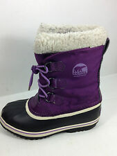 Sorel Yoot Pac Boot  NY1879-670  Berry Waterproof Boots Youth Size 5 US.