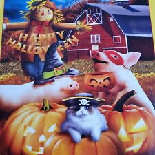 SunsOut Happy Halloween 500 Pieces Puzzle Complete