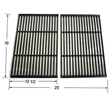 Charmglow Gas Grill Replacement Porcelain Cast Iron Cooking Grid JGG662