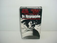 Dr. Strangelove or: How I Learned to Stop Worrying and Love the Bomb (Vhs, 1988)