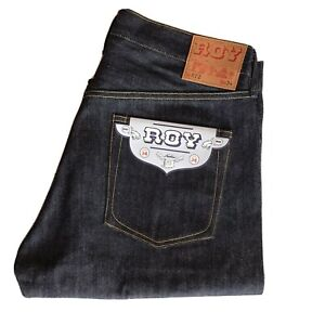 ROY for Self Edge RT2 Slim Tapered Jeans  34 x 38 Selvedge Brand New W/ Tags