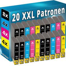20x TINTE PATRONEN für EPSON Stylus S22 SX125 SX130 SX230 SX235W SX430 SX445