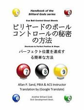 Cue Ball Control Cheat Sheets (Japanese): Shortcuts to Perfect Position and Shap